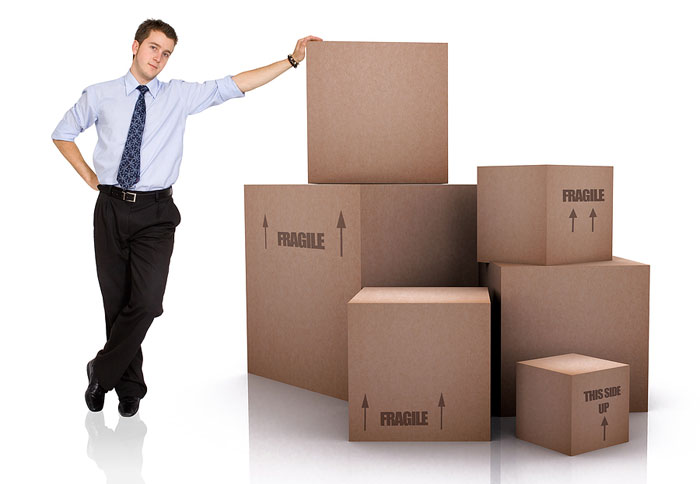 Commercial Moving Boxes